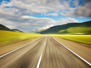 Endless Highway Wallpaper