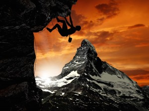 Mountaineering Wallpaper