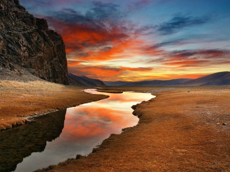 Gobi Desert HD Wallpaper