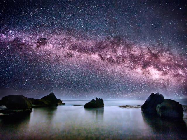 Milky Way Galaxy Wallpaper