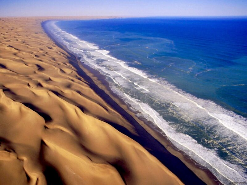 Skeleton Coast Wallpaper