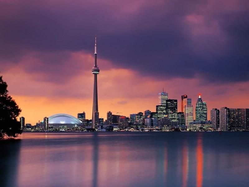 Toronto Skyline Wallpaper