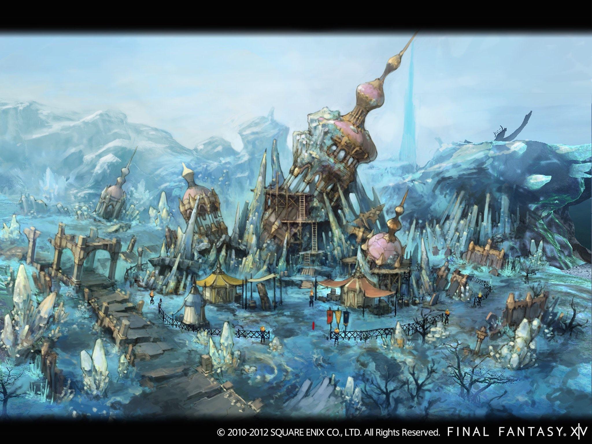 Final Fantasy Xiv A Realm Reborn Wallpaper Free Image