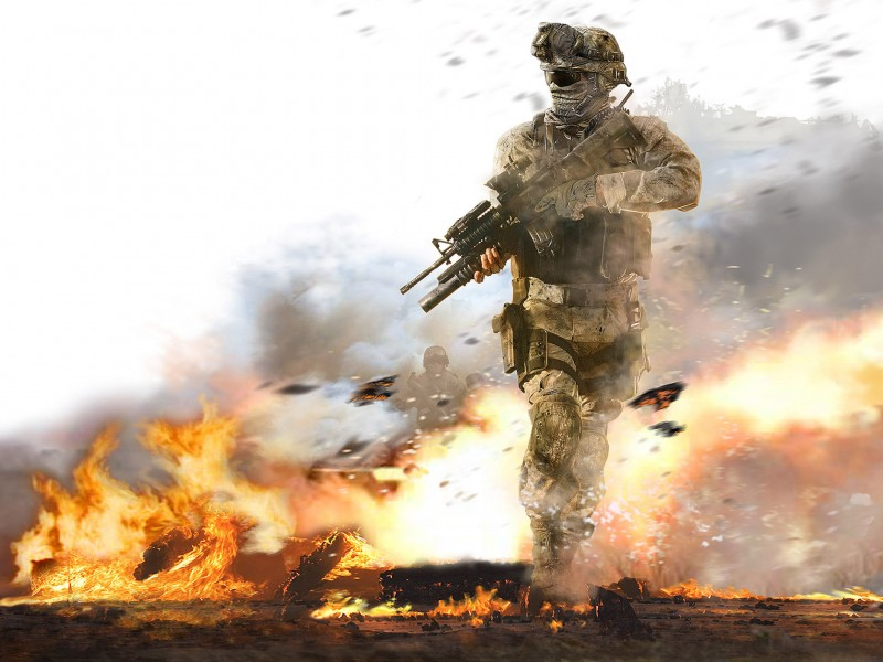 COD Modern Warfare 2 HD Wallpaper