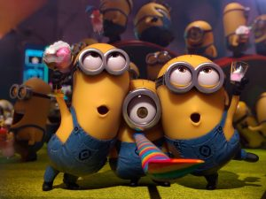 Minions-Despicable Me 2 Wallpaper